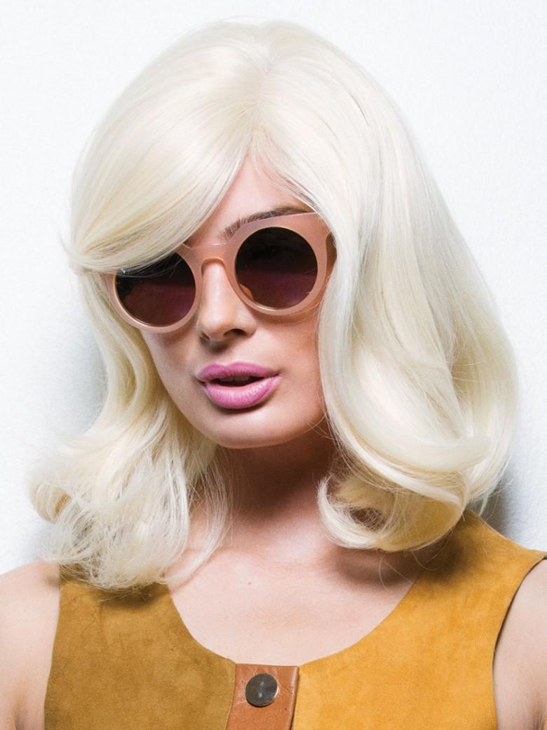 atomic blonde - refined curls